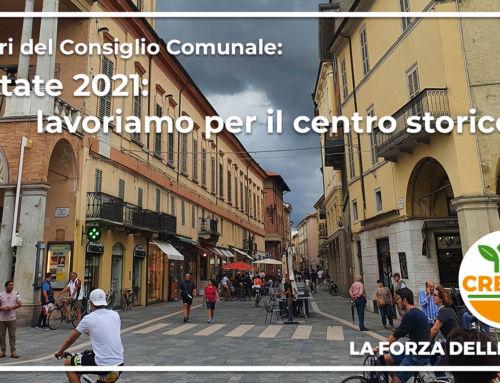 Estate 2021, lavoriamo per il centro storico