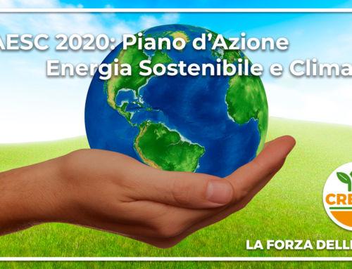 PAESC 2020: Piano d'Azione Energia Sostenibile e Clima