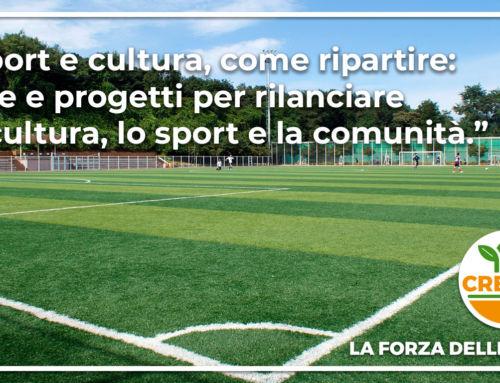 Sport e cultura, come ripartire!