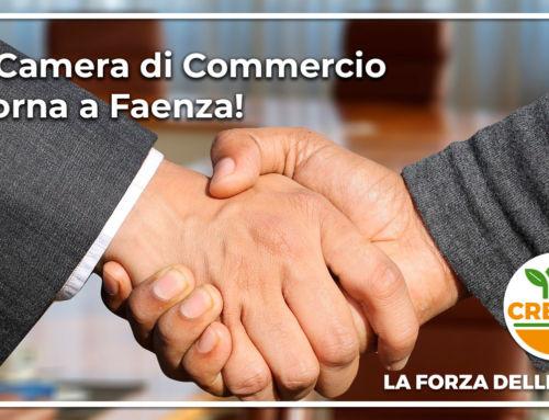 La Camera di Commercio torna a Faenza!